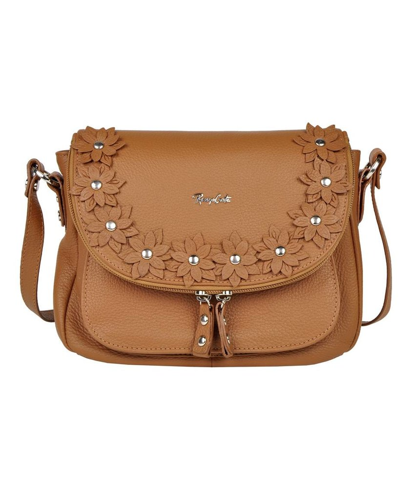 Renzo Costa 1412A - shoulderbag - brown