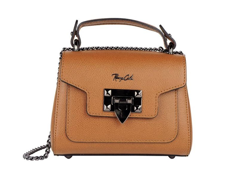 Renzo Costa RC PIU-18 MINI PIUMELLI - shoulder bag  - camel