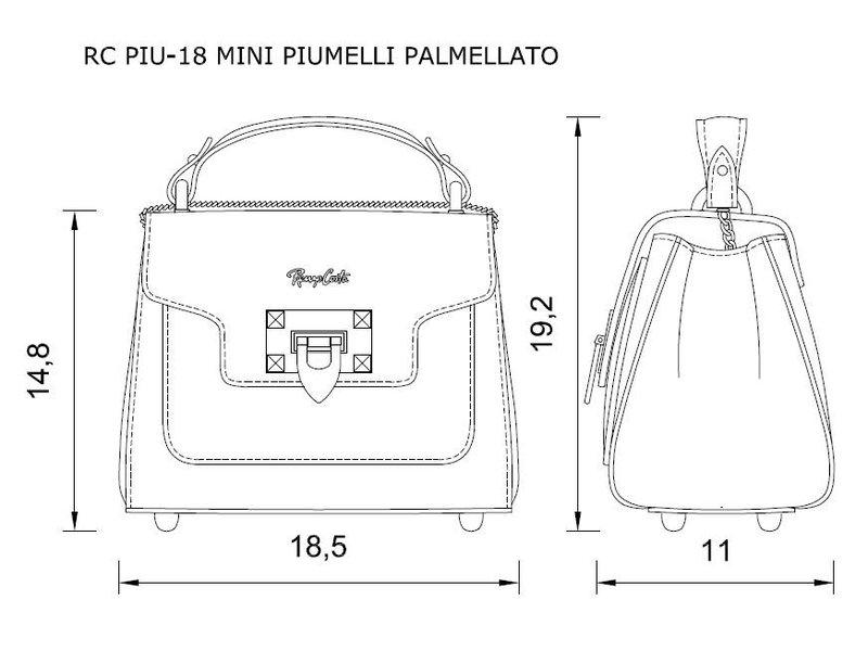 Renzo Costa RC PIU-18 MINI PIUMELLI - schoudertas - camel