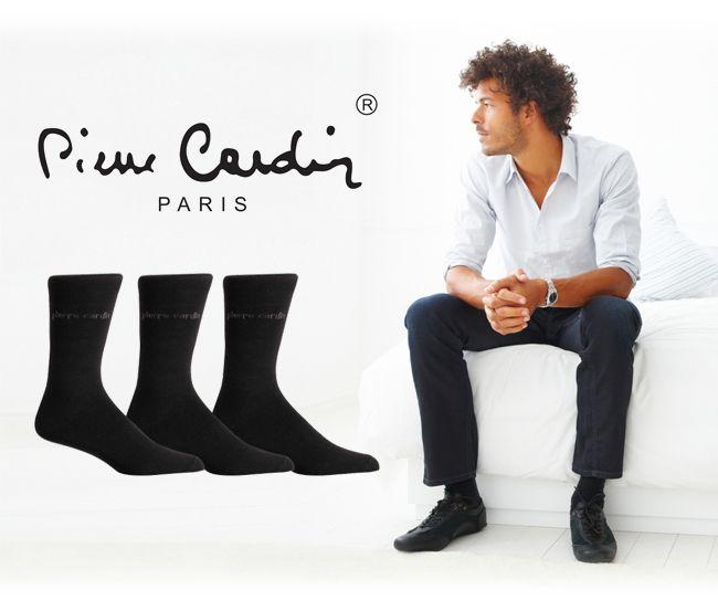 Dagaanbieding - 12x Zwarte Pierre cardin business-sokken dagelijkse koopjes