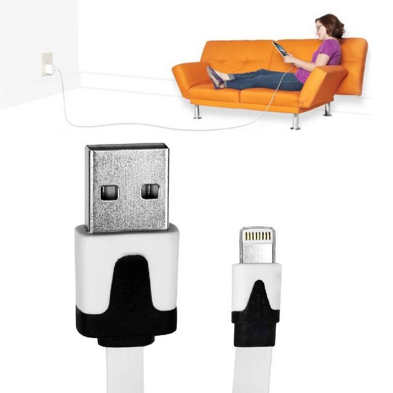 Dagaanbieding - 3 meter kabel voor uw iPad of iPhone dagelijkse koopjes
