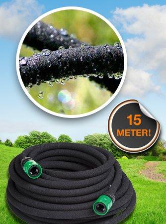 Dagaanbieding - Druppelslang met Snelkoppeling ideaal voor uw droge Tuin dagelijkse koopjes