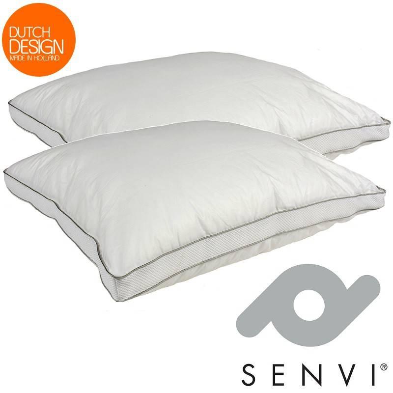 Dagaanbieding - Senvi High Standard Kussen - Anti nekpijn - Anti Allergisch - 3D-Mesh dagelijkse koopjes