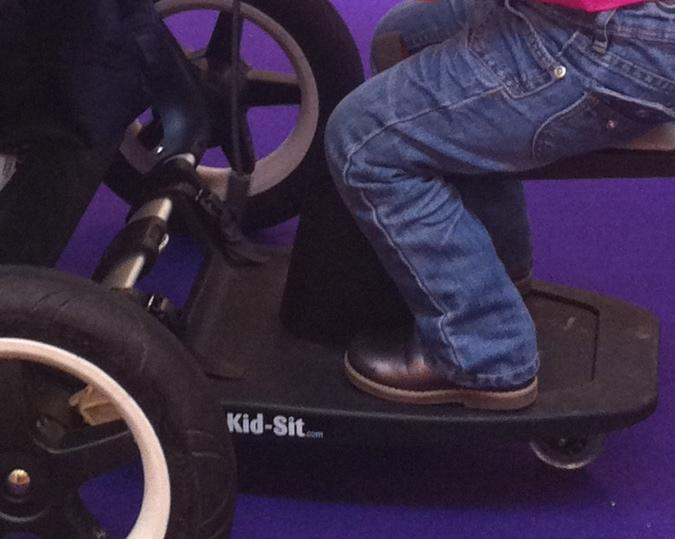 Kid-Sit in combinatie met de Bugaboo Donkey