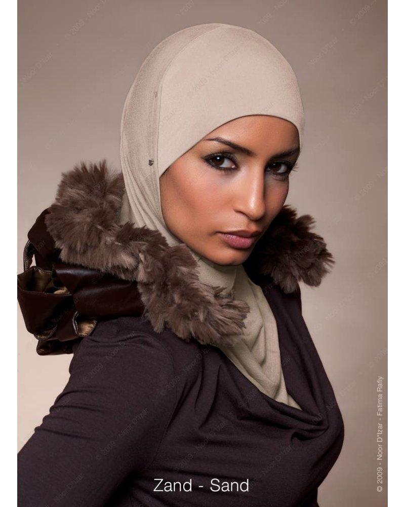 Noor D*Izar Suraya hoofddoek - zand kleur