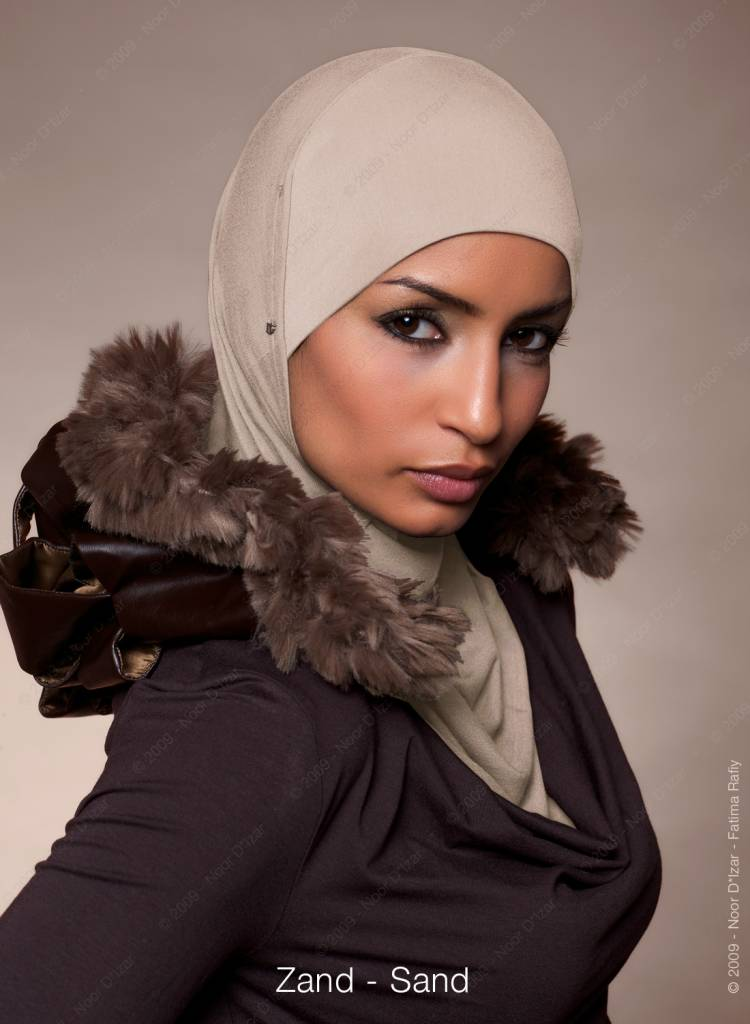 Noor D*Izar Suraya hijab - Sand colour