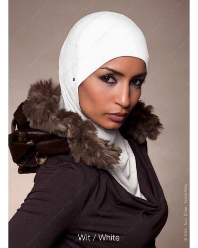 Noor D*Izar Suraya hoofddoek - Wit