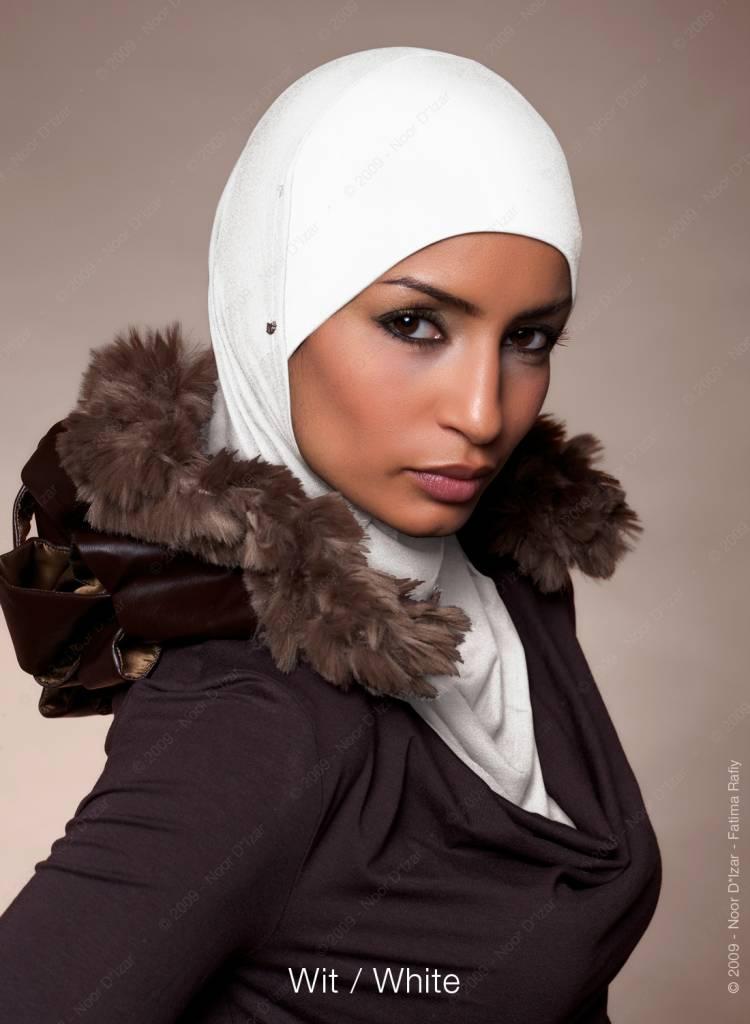 Noor D*Izar Suraya hijab - White
