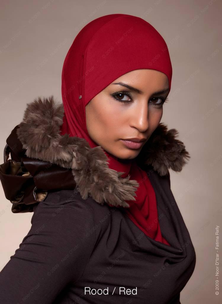 Noor D*Izar Suraya hoofddoek - Rood