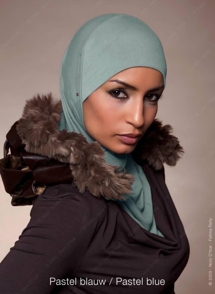 Noor D*Izar Suraya hoofddoek - Pastel blauw