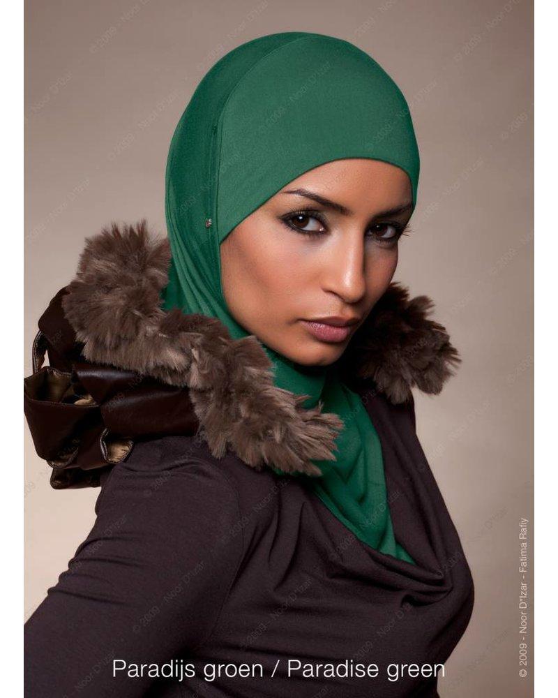 Noor D*Izar Suraya hoofddoek - Paradijs groen