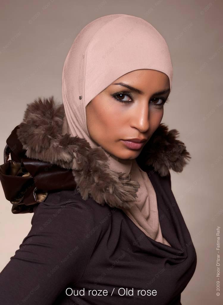 Noor D*Izar Suraya hoofddoek - Oud roze