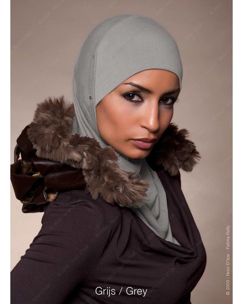 Noor D*Izar Suraya hoofddoek - Grijs