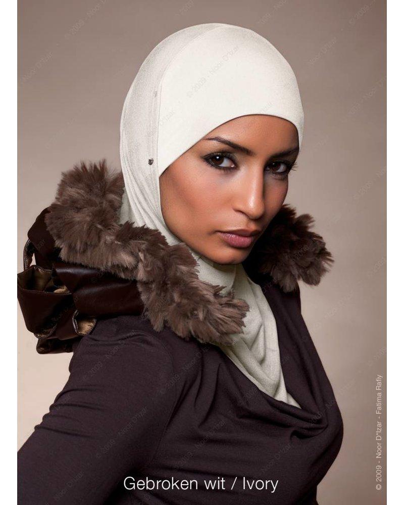 Noor D*Izar Suraya hijab - Ivory