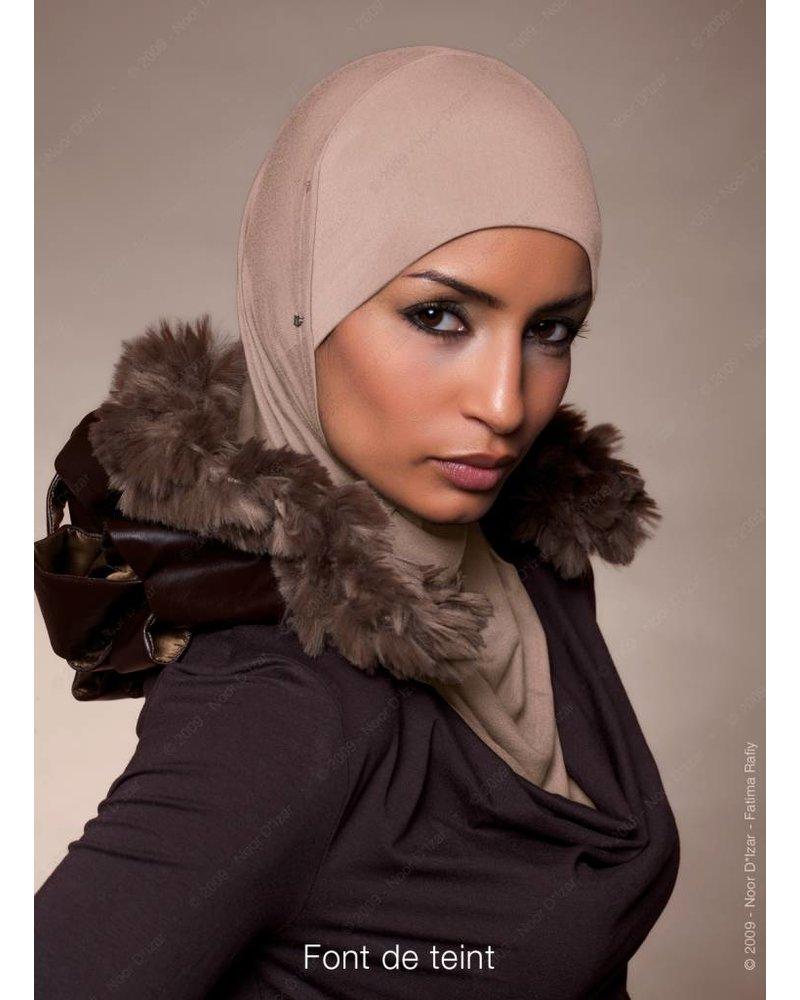 Noor D*Izar Suraya hoofddoek - Font de teint