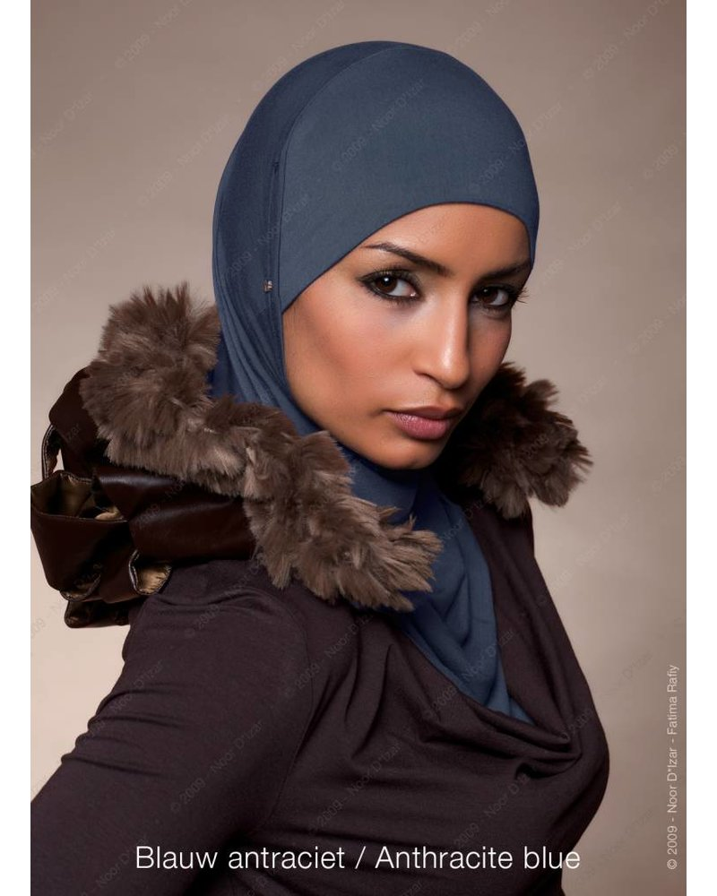 Noor D*Izar Suraya hijab - Anthracite blue