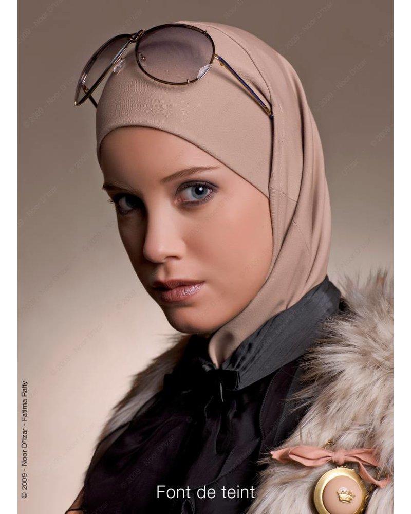 Noor D*Izar Imsar hoofddoek - Font de teint