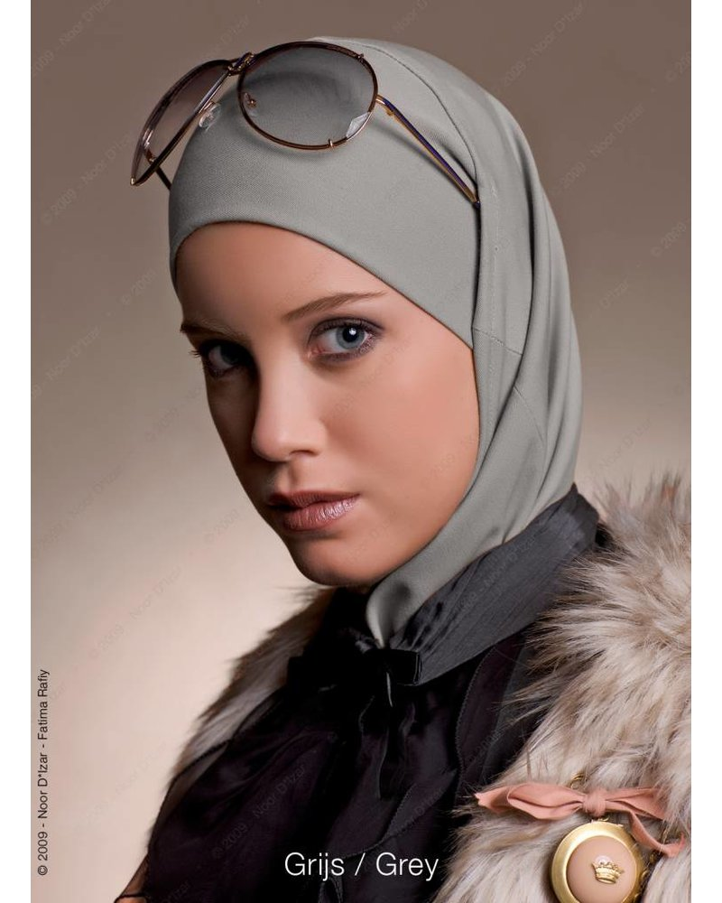 Noor D*Izar Imsar hijab - Grey