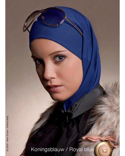 Noor D*Izar Imsar hijab - Royal blue