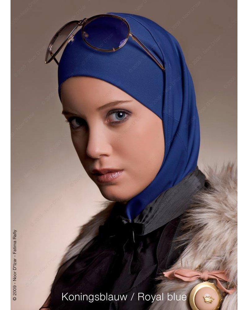 Noor D*Izar Imsar hoofddoek - Koningsblauw