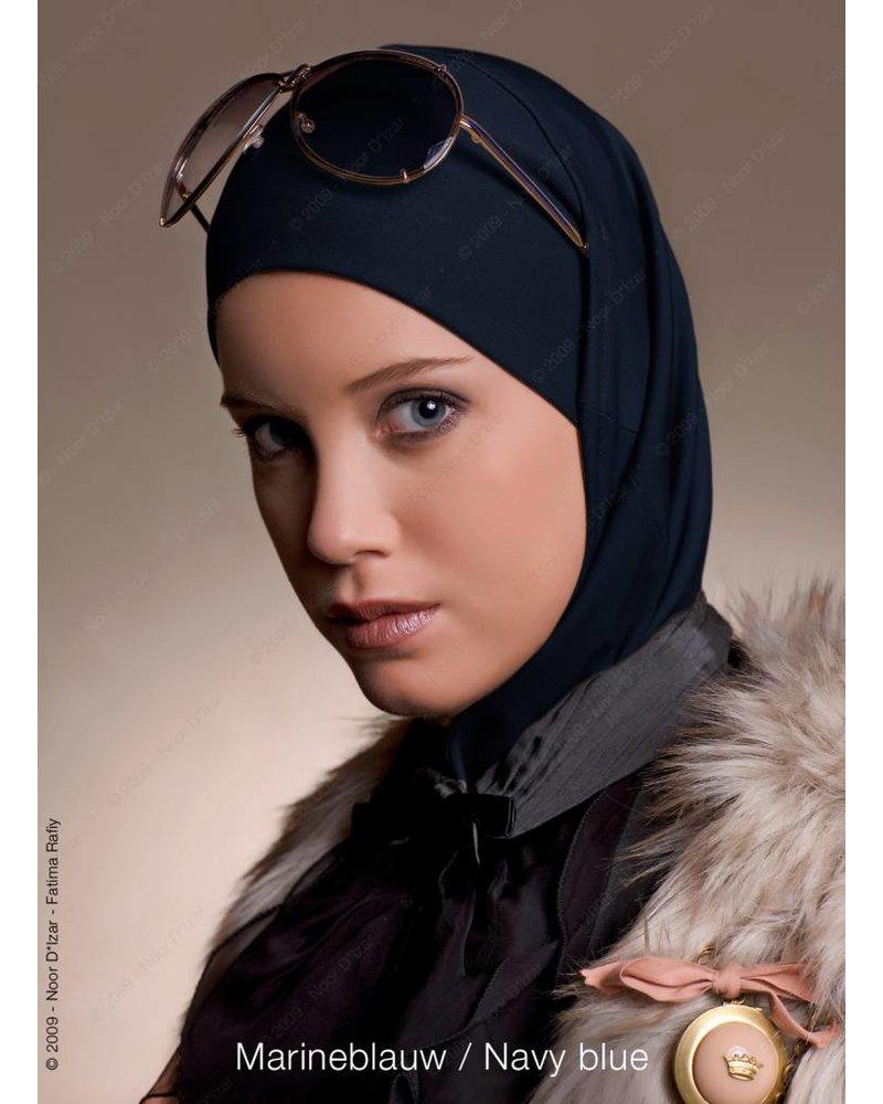 Noor D*Izar Imsar hoofddoek - Marineblauw