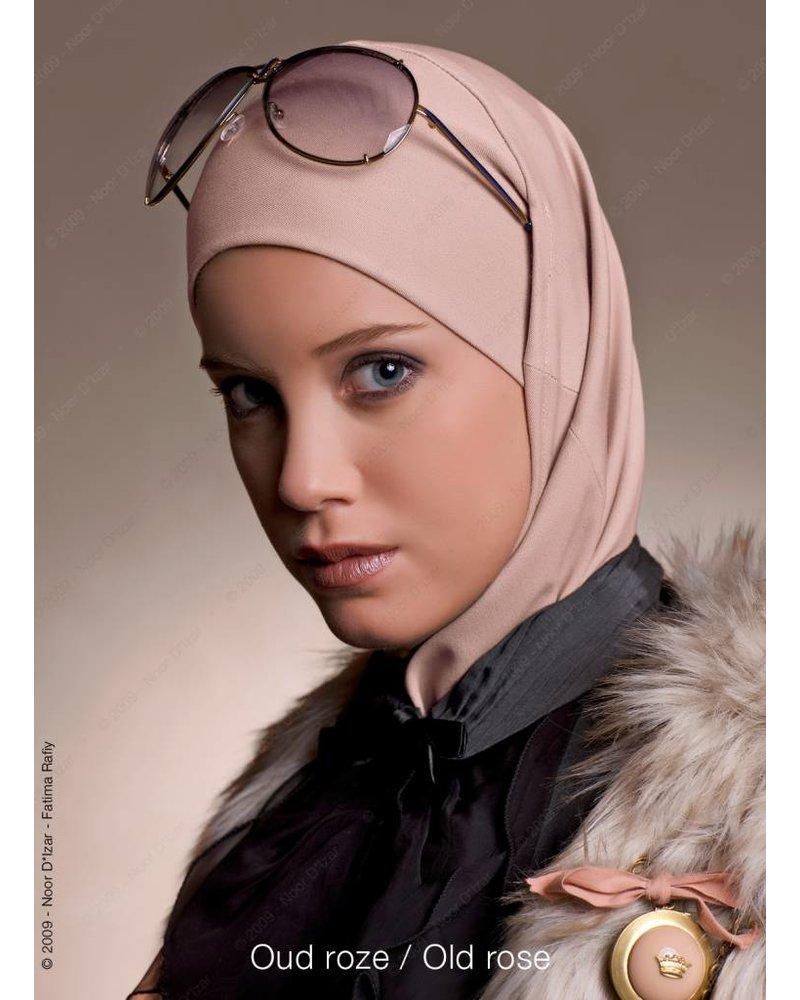 Noor D*Izar Imsar hoofddoek - Oud roze