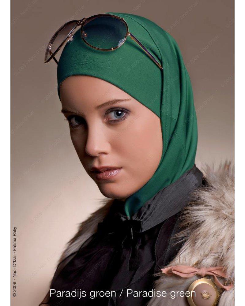 Noor D*Izar Imsar hoofddoek - Paradijs groen