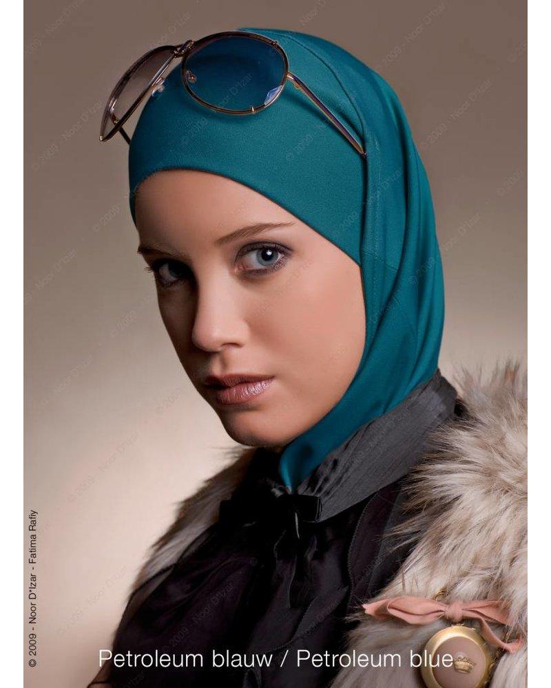 Noor D*Izar Imsar hijab - Petroleum blue