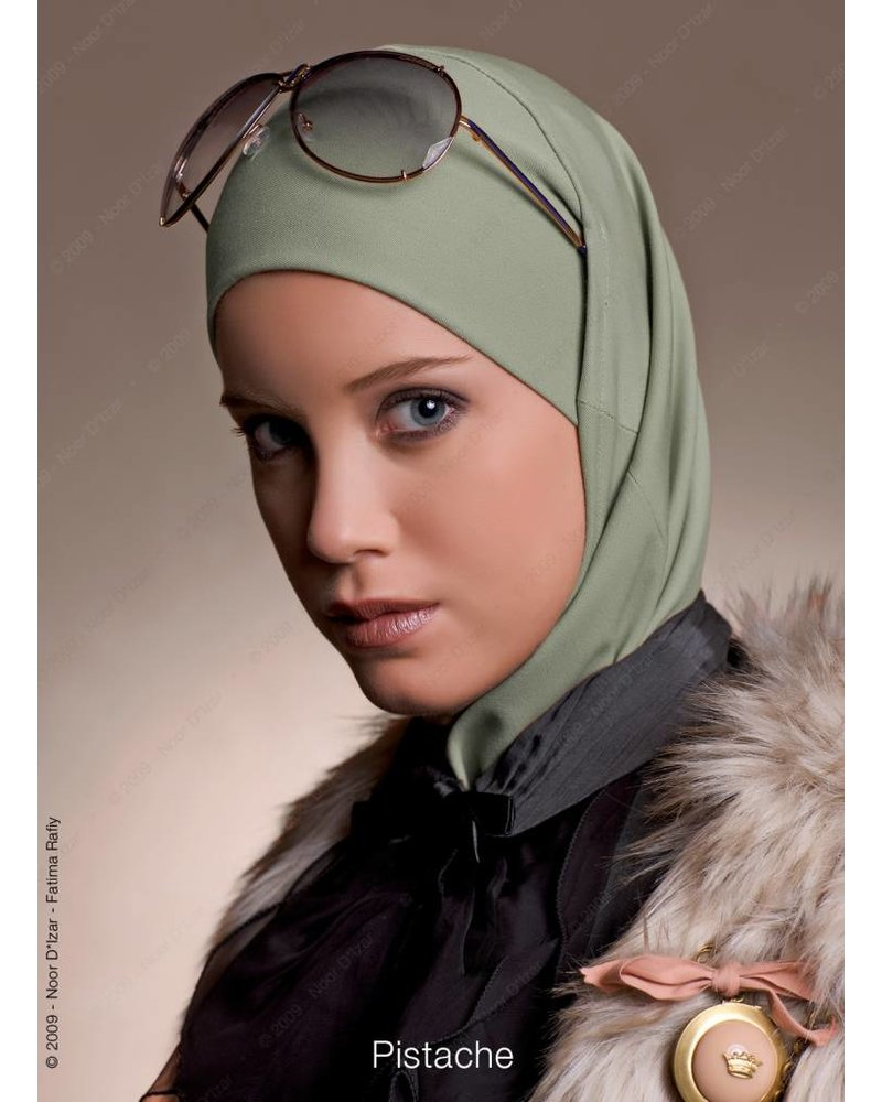 Noor D*Izar Imsar hoofddoek - Pistache