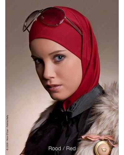 Noor D*Izar Imsar hoofddoek - Rood