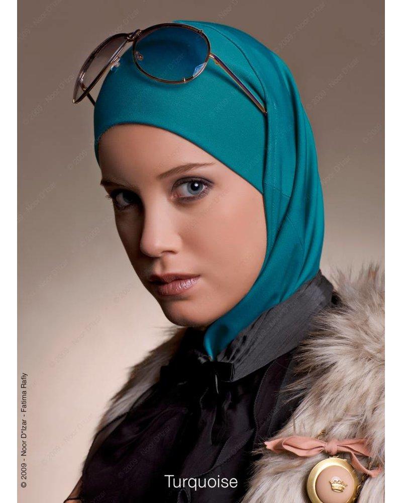 Noor D*Izar Imsar hijab - Turquoise