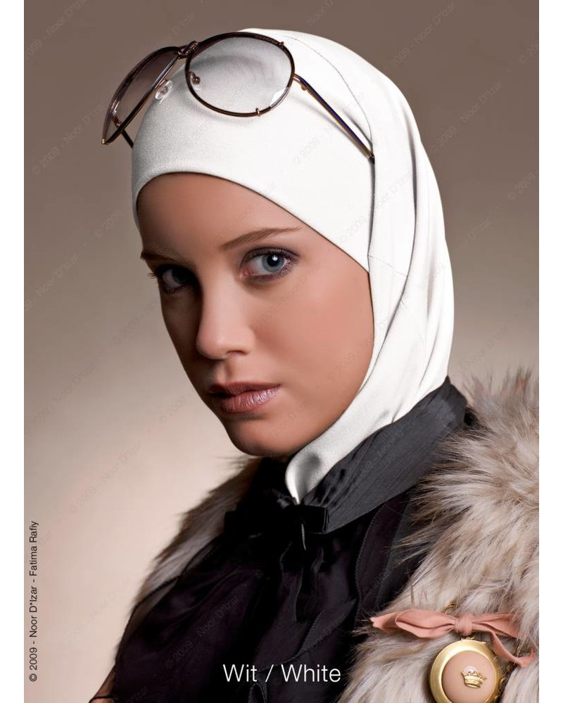 Noor D*Izar Imsar hijab - White