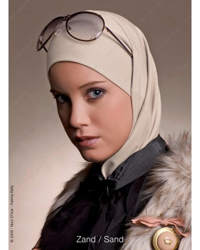 Noor D*Izar Imsar hoofddoek - Zand kleur