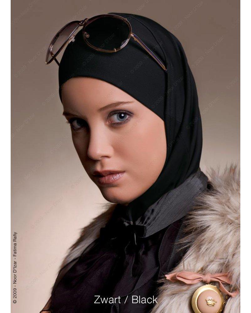 Noor D*Izar Imsar hoofddoek - Zwart