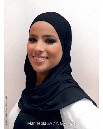 Noor D*Izar Indira hoofddoek - Marineblauw