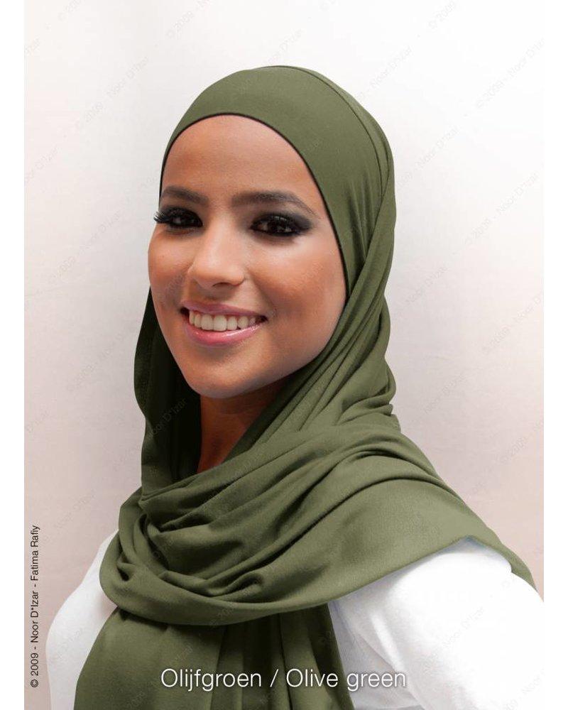 Noor D*Izar Indira hijab - Olive green