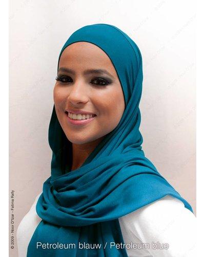 Noor D*Izar Indira hijab - Petroleum blue