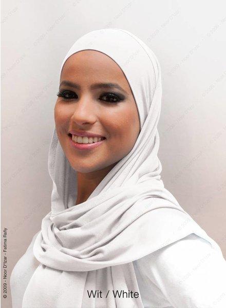 Noor D*Izar Indira - White
