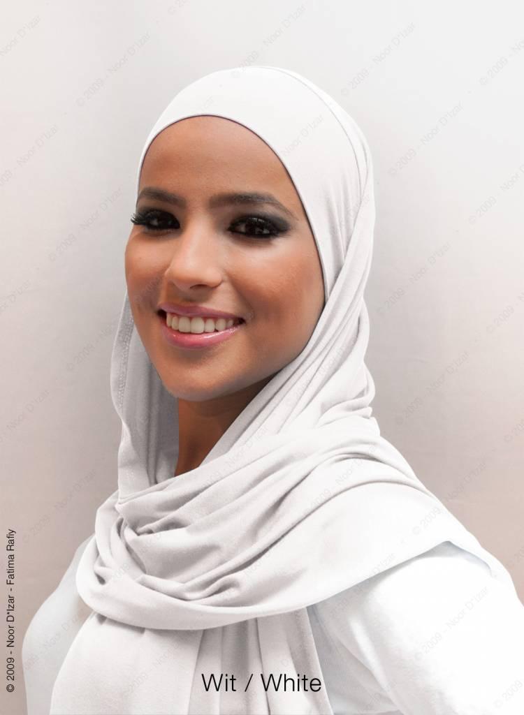 Noor D*Izar Indira hijab - White