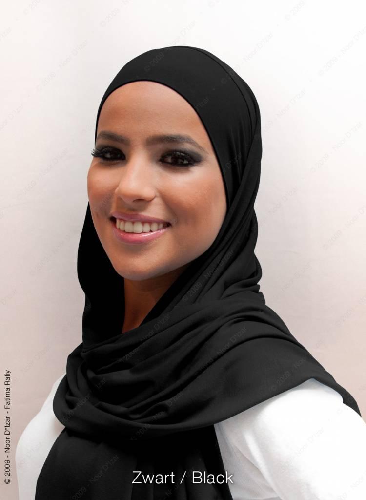 Noor D*Izar Indira hijab - Chocolate brown