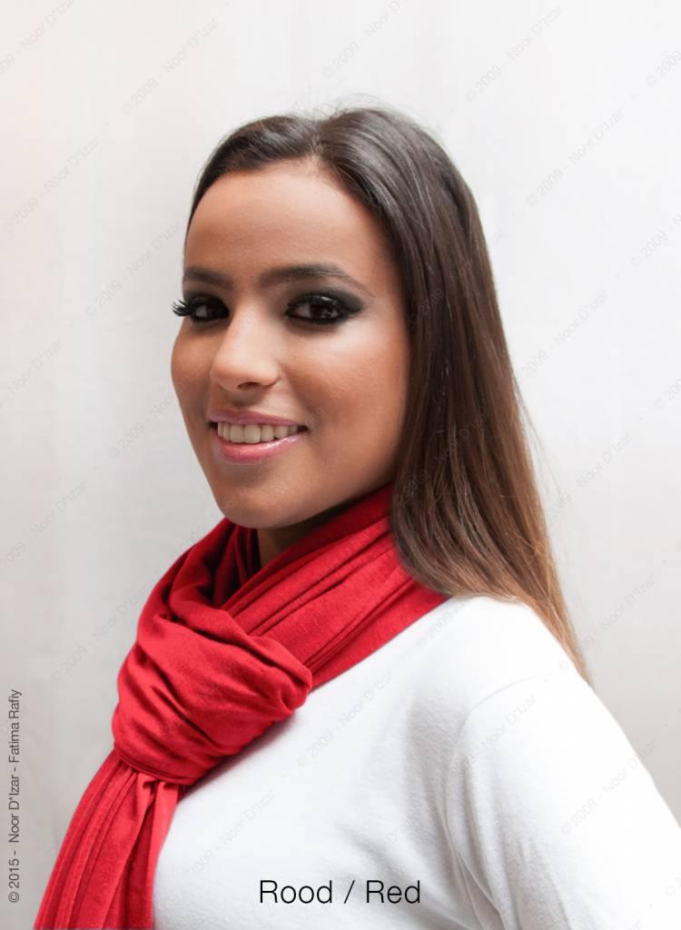 Maysa sjaal - Rood