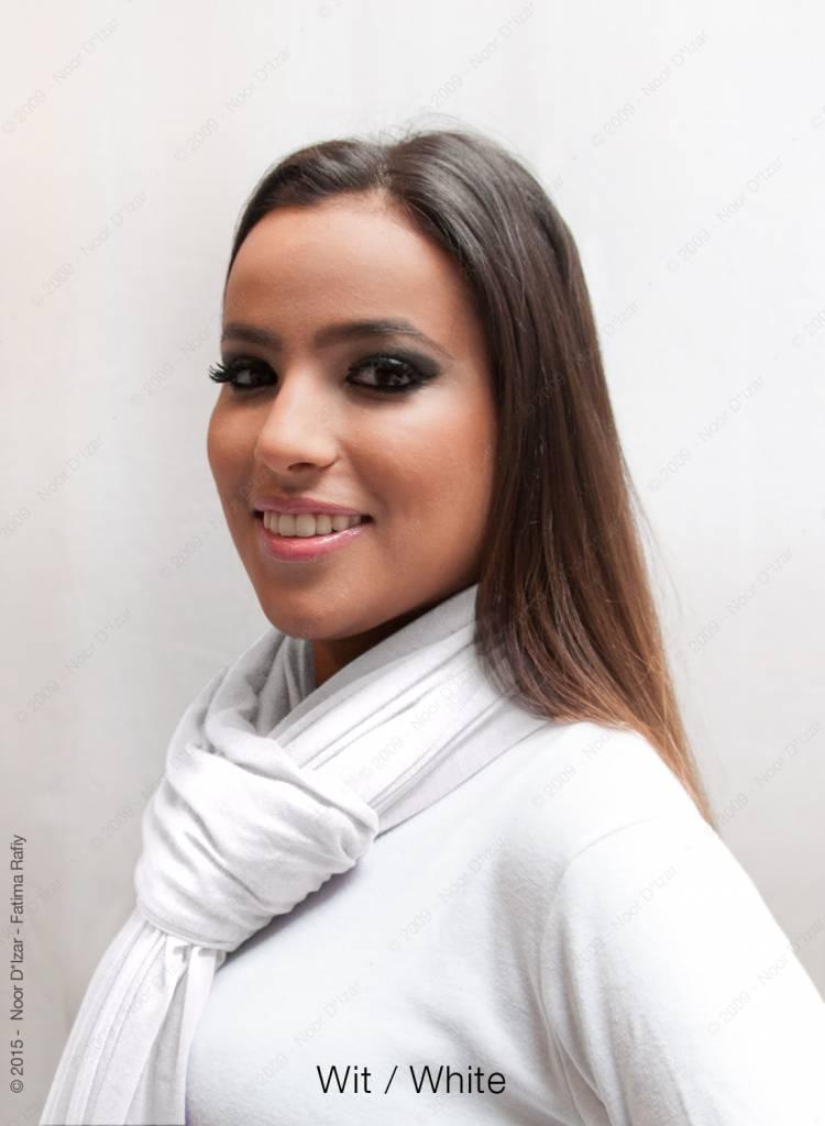 Maysa sjaal - Wit