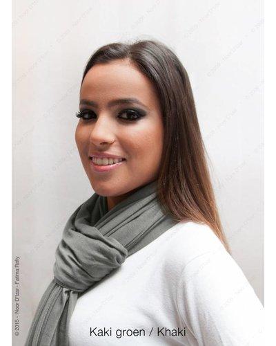 Maysa sjaal - Kaki groen