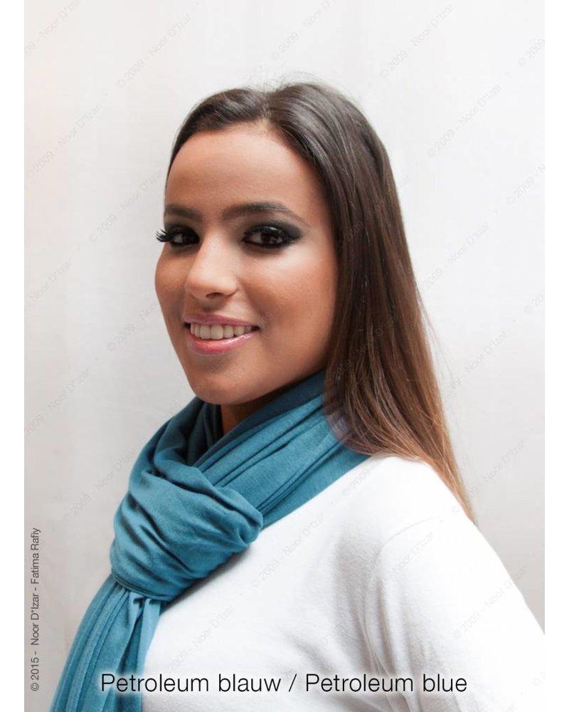 Maysa scarf - Petroleum blue