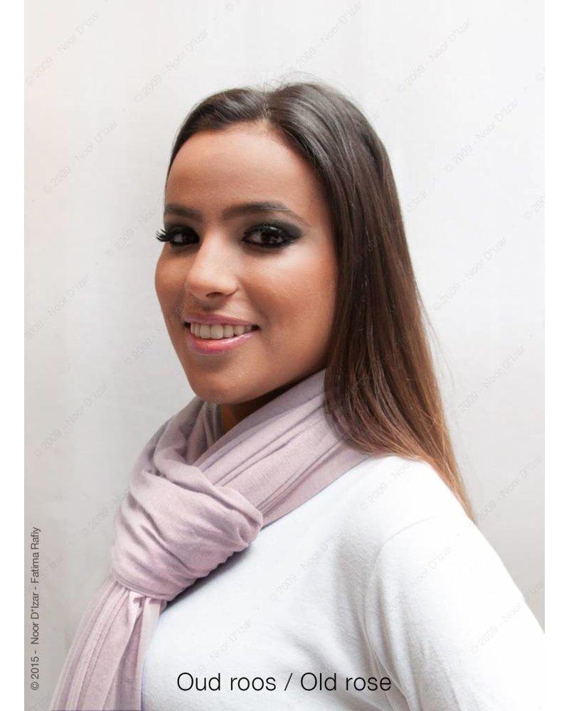 Maysa sjaal - Oud roos