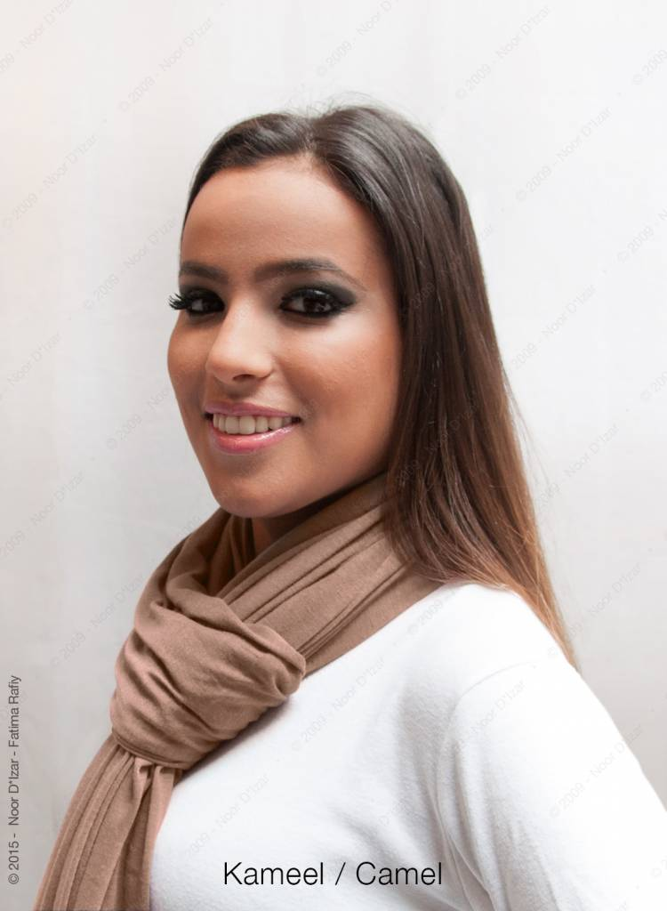 Maysa scarf - Camel
