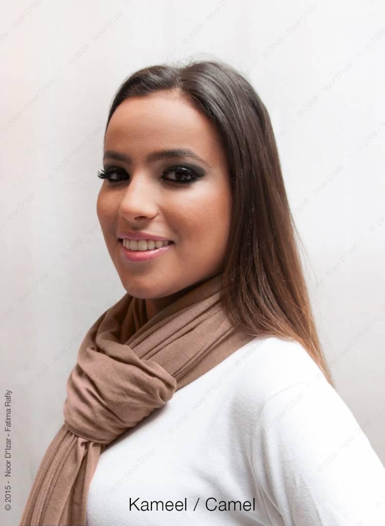 Maysa sjaal - Kameel
