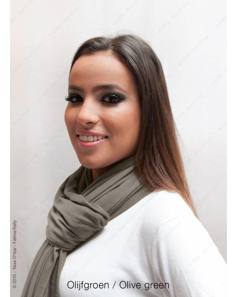Maysa sjaal - Olijfgroen