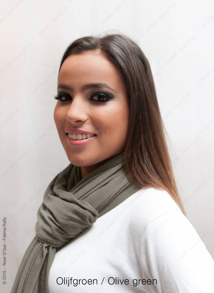 Maysa scarf - Olive green
