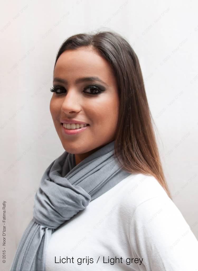 Maysa sjaal - Licht grijs